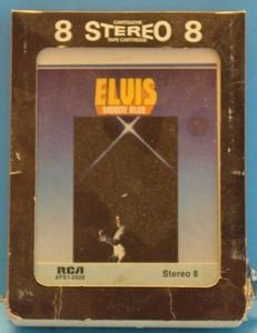 ELVIS PRESLEY Moody Blue Vintage 8 Track Tape Stereo Music Cartridge Cassette