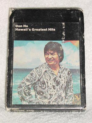 Don Ho Hawaii�s Greatest Hits Vintage 8 Track Tape Stereo Music Cartridge