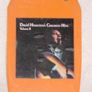 David Houston Greatest Hits Vintage 8 Track Tape Stereo Music Cartridge Cassette