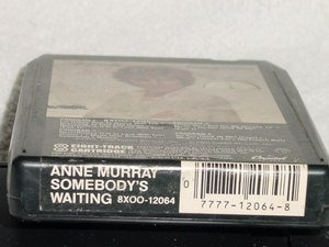 Anne Murray Somebody�s Waiting Vintage 8 Track Stereo Tape Cartridge Music