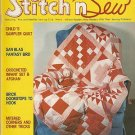 Vintage Stitch 'n Sew August, 1979 Volume 12 Number 4 Magazine