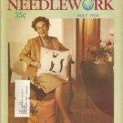 Vintage Popular Needlework May 1966 Magazine