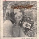 Vintage Polaroid Land Camera Booklet Meet The Square Shooter 2 Polacolor