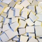 800 White Filler Mosaic Tiles from a Variety of Different Dinnerware Dish Sets