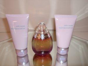 Estee Lauder Beyond Paradise Perfume/Body Lotion/Body Wash Set
