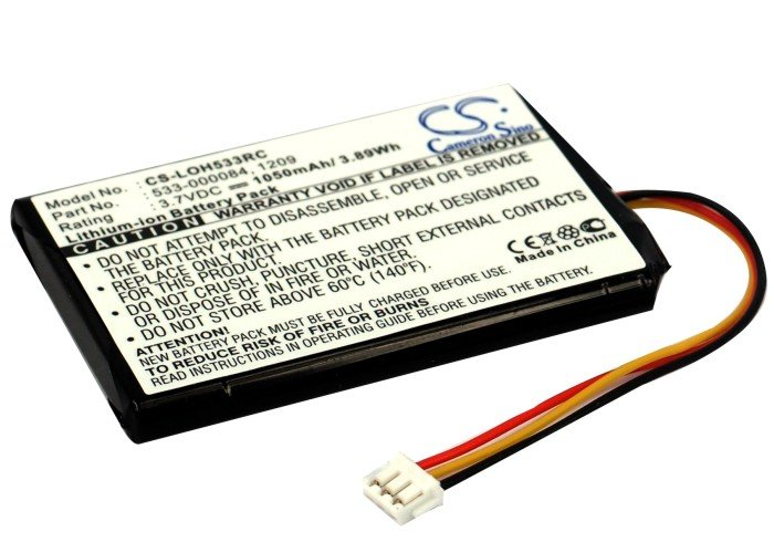 1050mAh / 3.89Wh Battery For Logitech Harmony Touch