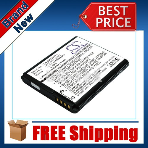 1000mAh Battery For BlackBerry Curve 9370, Curve 9350, Sedona, Apollo