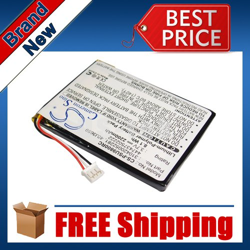 2200mAh Battery For Philips Pronto TSU-9800, RC9800I/17