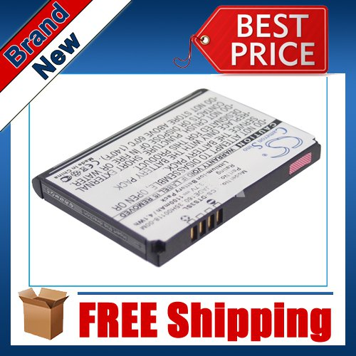 1100mAh Battery For HTC Touch 3G, Jade, T3232, Touch Flo 3D, T4242, Twin 10000