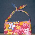 Funky Pink Classic Tote with Tie Straps (Medium)