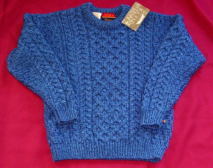 NWT Boys Avoca Merino Wool Sweater Large from Ireland