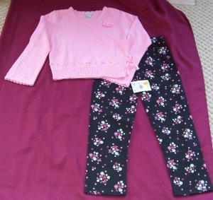 New w Tags Healthtex girls sweater & pants set Size 7
