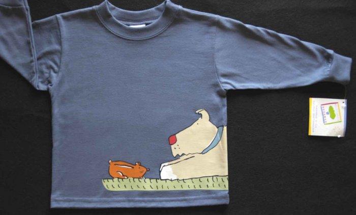 NWT Boys MULBERRIBUSH Tee Shirt Top Dog 24 M Fall