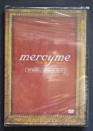 Mercy Me How To Breathe DVD MercyMe New Limited