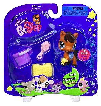 Littlest Pet Shop Horse Fuzzy Pony 627 Little PetShop