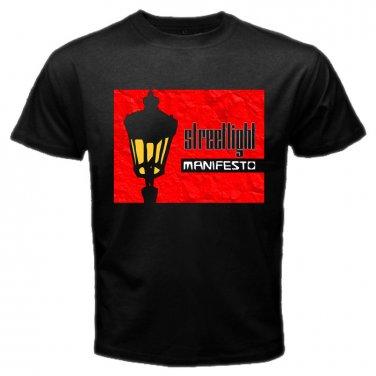Streetlight Manifesto Logo Punk Rock Band Black T Shirt S to XXXL