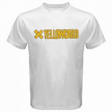 Yellow Card Logo White T-Shirt Emo Punk Rock Band S to XXXL