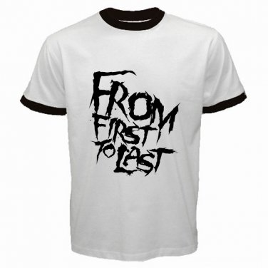 From First To Last Logo Emo Punk Rock Band Mens T-Shirt  S to XXXL