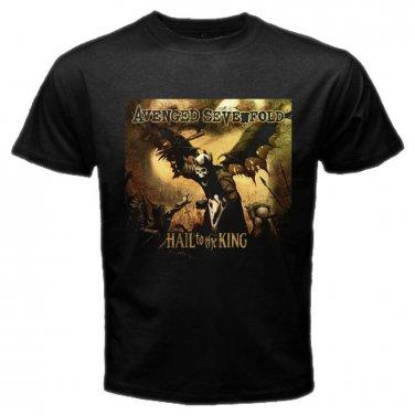Avenged Sevenfold Logo Emo Punk Rock Band Mens T-Shirt  S to XXXL