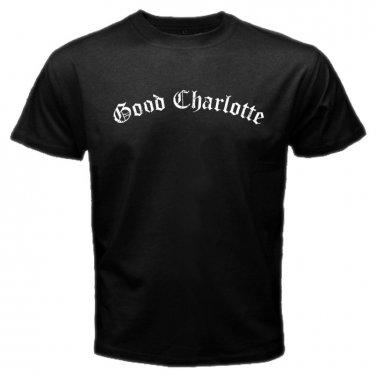 Good Charlotte Logo Emo Punk Rock Band Mens T-Shirt  S to XXXL