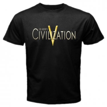 Civilization Video Game PC Playstation PS Games Mens T-Shirt  S to XXXL