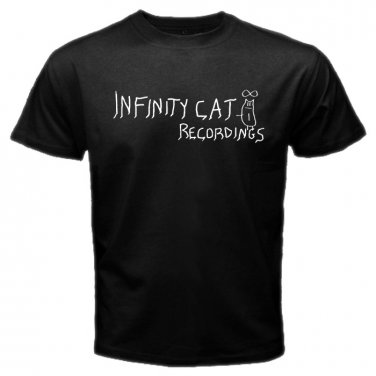 Infinity Cat Indie Record Label Garage Rock Mens T-Shirt  S to XXXL