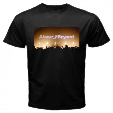 Above & Beyond Logo EDM DJ Trance Dance Electronic Music Mens T-Shirt S to XXXL