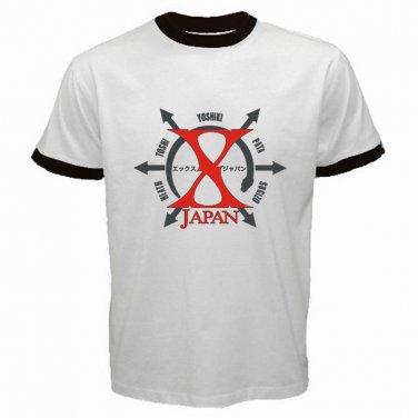 X Japan Logo Japan Rock Band Punk Metal Hardcore Mens T-Shirt S to XXXL
