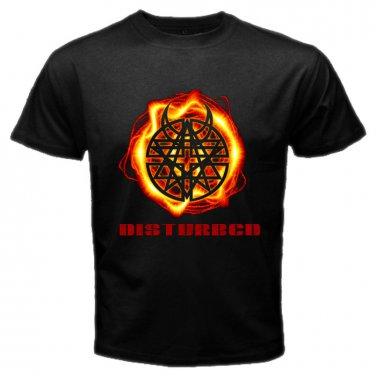 Disturbed Hard Rock Hardcore Heavy Metal Band Mens T-Shirt  S to XXXL
