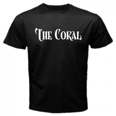 The Coral Pop Rock Band British Band Mens T-Shirt  S to XXXL