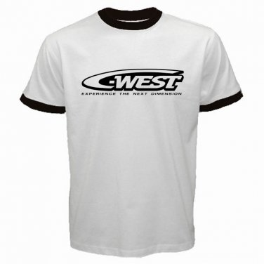 C-West Wing Japanese After Market Part Street Racing JDM Automotive  Mens T-Shirt  S to XXXL