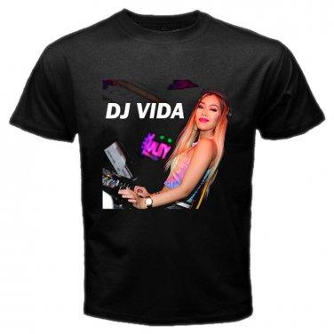 DJ Vida DJ EDM Female House Trance Music Clubbing Rave Mens T-Shirt  S to XXXL