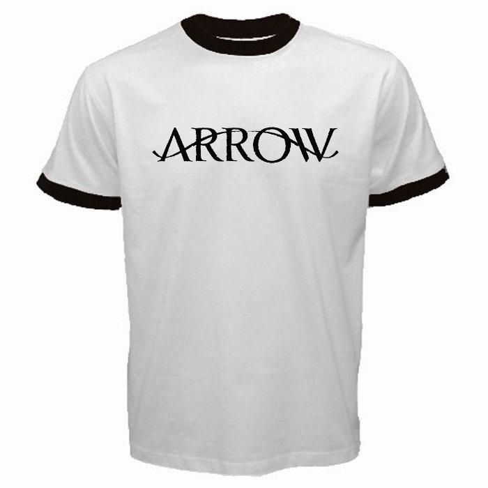 The Arrow Logo DC Comics U.S TV Serial Oliver Queen Super Hero Men T-Shirt S to XXL
