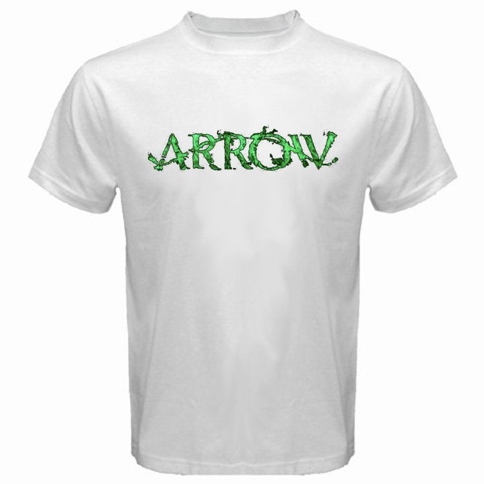 The Arrow Logo DC Comics U.S TV Serial Oliver Queen Super Hero Men T-Shirt S to XXL