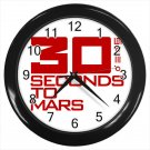 30 Seconds To Mars Rock Band  10 Inch Wall Clock Home Decoration