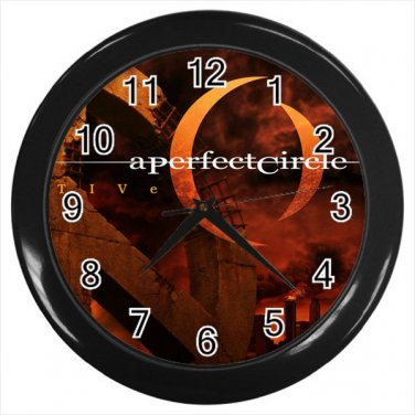 A Perfect Circle Rock Supergroup American 10 Inch Wall Clock Home Decoration
