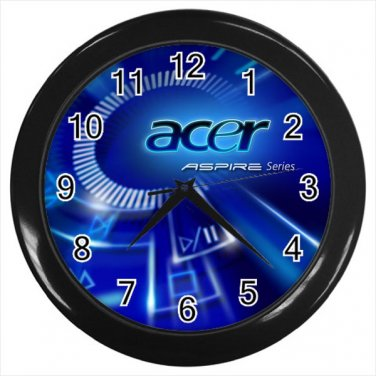 Acer Computer IT Technology Art Logo 10 Inch Wall Clock Home Decoration
