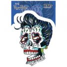 Sunny Buick - Rockabilly Skull - Sticker / Decal