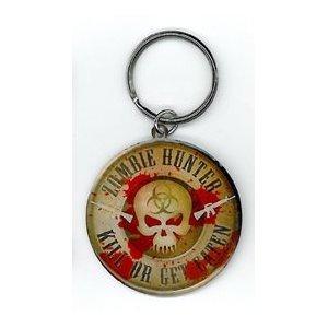 Frank Wiedemann - Zombie Hunter - Metal Keychain
