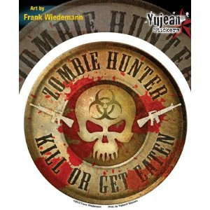 Frank Weidmann Zombie Hunter Decal/Sticker