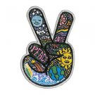 Dan Morris - Celestial Peace Hand Fingers - Embroidered Patch by Dan Morris
