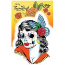 Sunny Buick - Lady Skull - Sticker / Decal