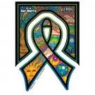 Dan Morris - Earthday Ribbon - Sticker / Decal