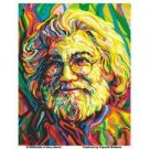 Jerry Garcia portrait sticker