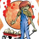 "Zombie Kids - DOUGLAS - Zombie Boy Sticker Art by Frank wiedemann 3.5""x5""  *NEW*"