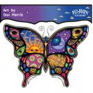 DAN MORRIS NIGHT AND DAY CELESTIAL BUTTERFLY STICKER EXTRA LONG LASTING STICKER