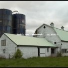*Old White Farm Barn*  8x10 Color Photo