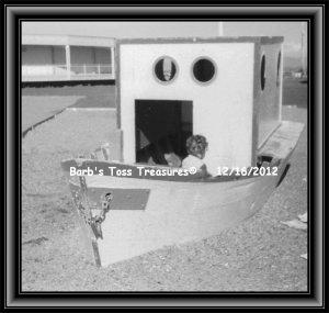 *Beached Playground*  8X10 Black & White