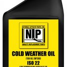 SNOW PLOW OIL - 1 CASE = 12 QUARTS - NLP BRAND