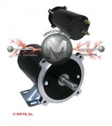 120Z402H, 120Z402H1, 120Z402H2, W4BB1601  MOTOR FOR SCOTT MOTORS & LEESON SALT SPREADER
